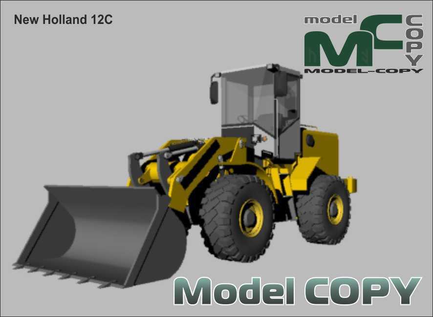 New Holland 12C - 3Dモデル