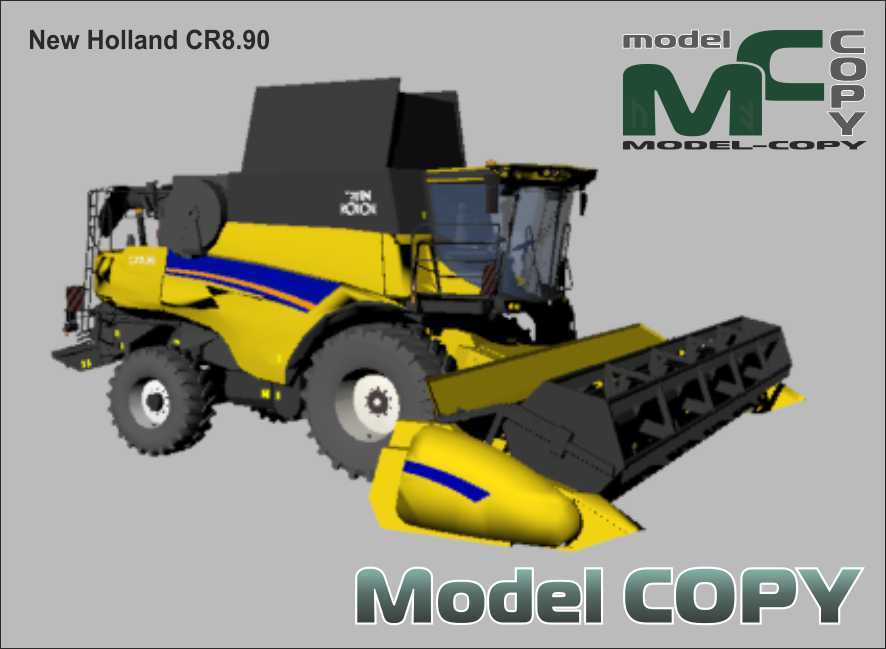 New Holland CR8.90 - 3D Model