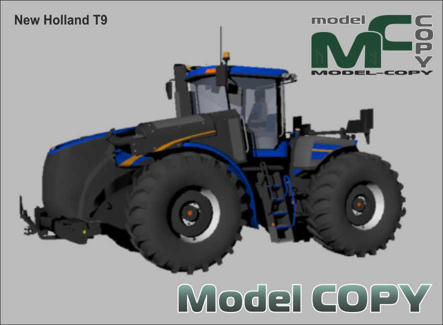 New Holland T9 - 3D Model