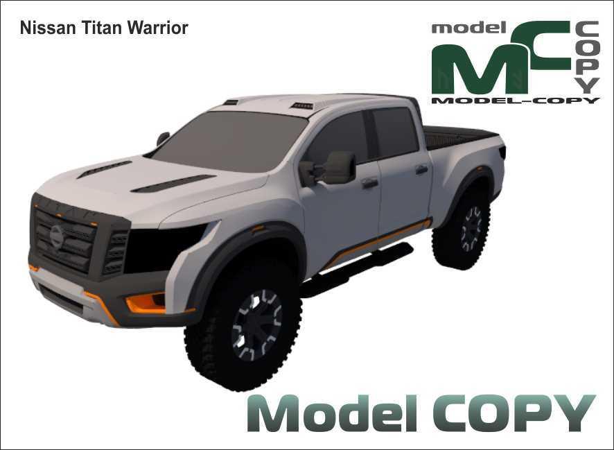 Nissan Titan Warrior - 3D-model
