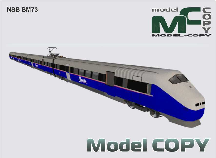 NSB BM73 - 3D Model