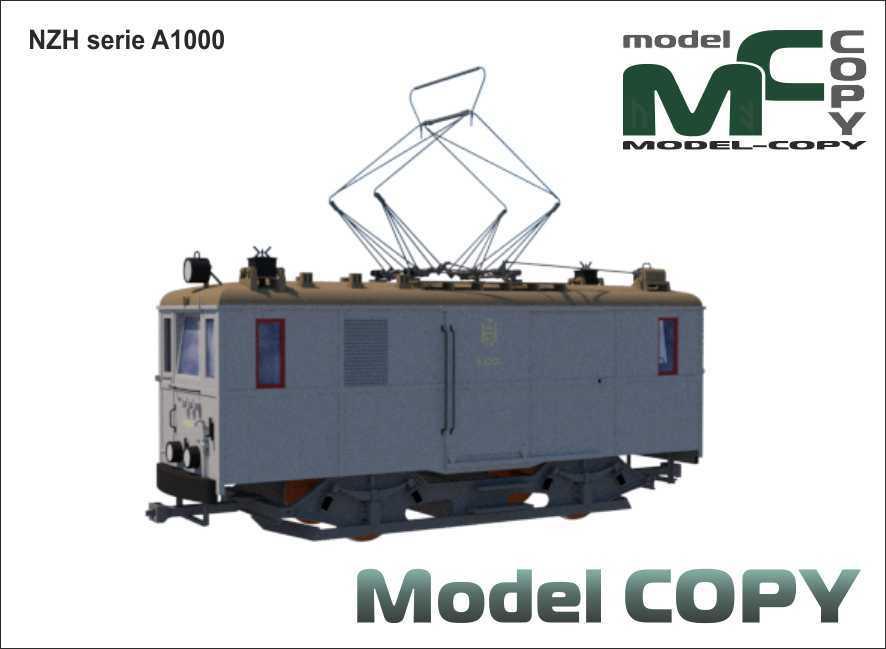 NZH serie A1000 - 3D Model
