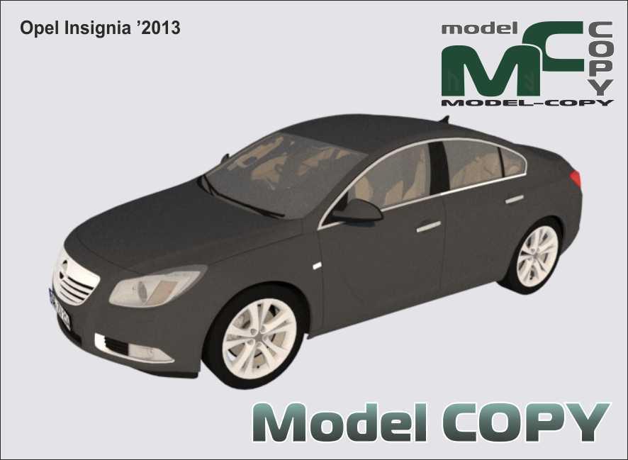 Opel Insignia '2013 - 3D Model