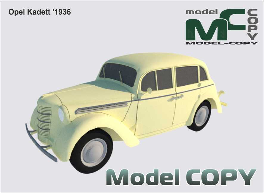 Opel Kadett '1936 - 3D Model