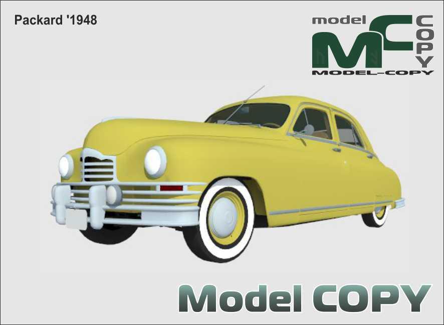 Packard '1948 - 3D Model