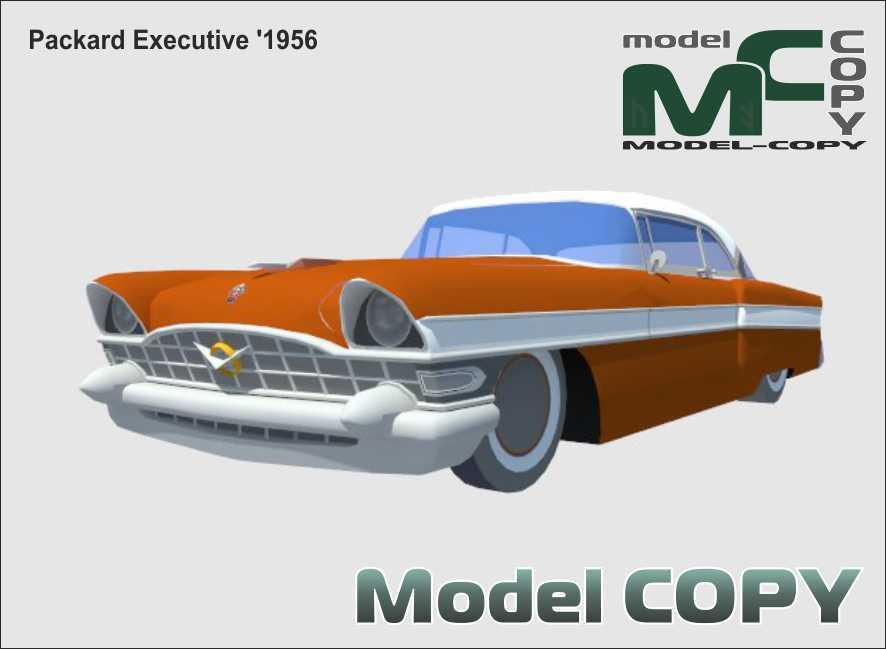 Packard Executive '1956 - 3D Model