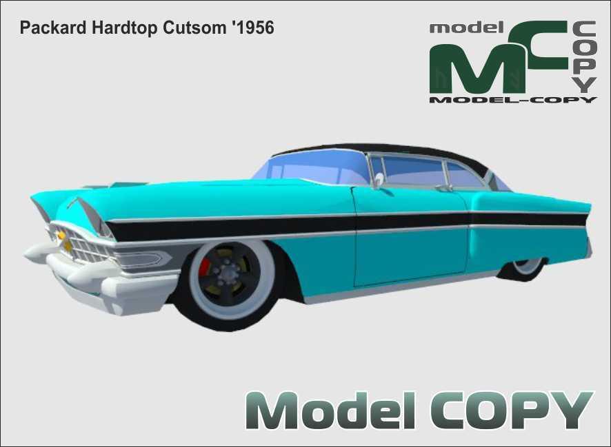 Packard Hardtop Cutsom '1956 - 3D Model