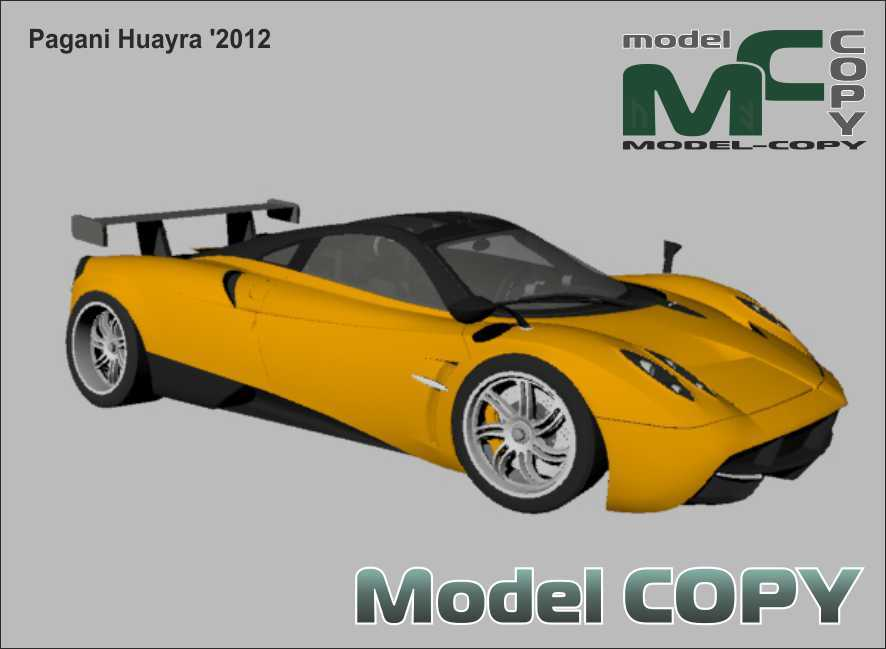 Pagani Huayra '2012 - 3D Model