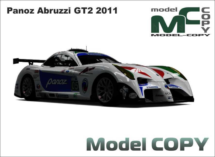 Panoz Abruzzi GT2 2011 - 3D Model