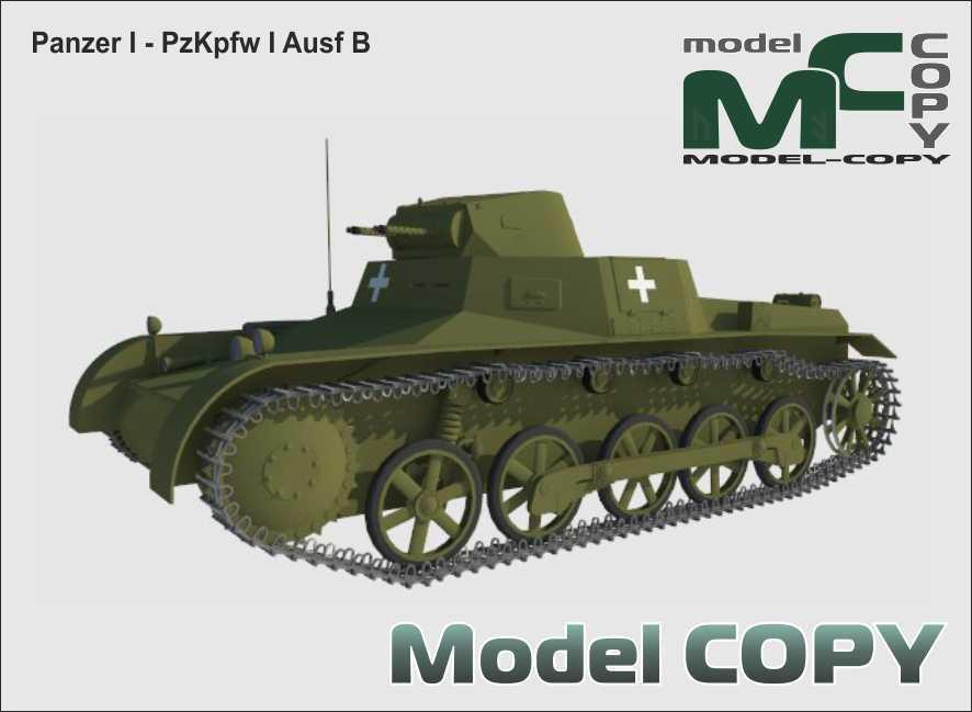PzKpfw I - Panzer I Ausf B - 3D Model