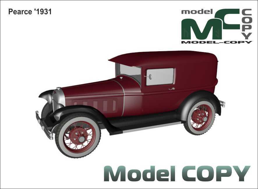 Pearce '1931 - 3D Model