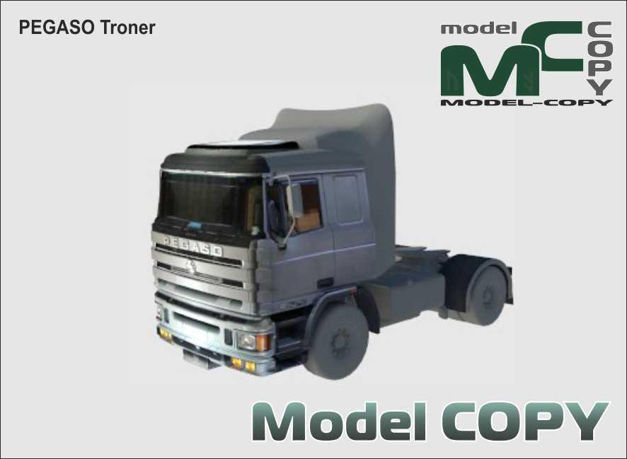 PEGASO Troner - 3D Model