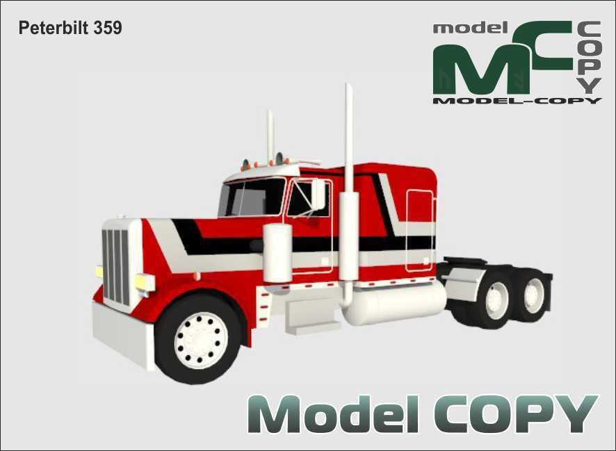 Peterbilt 359 - 3D Model