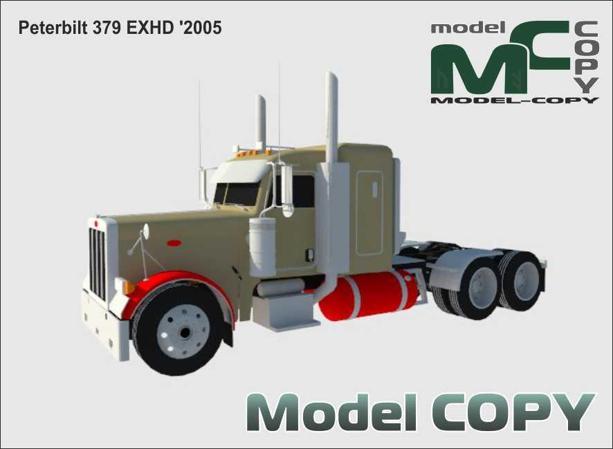 Peterbilt 379 EXHD '2005 - 3D Model