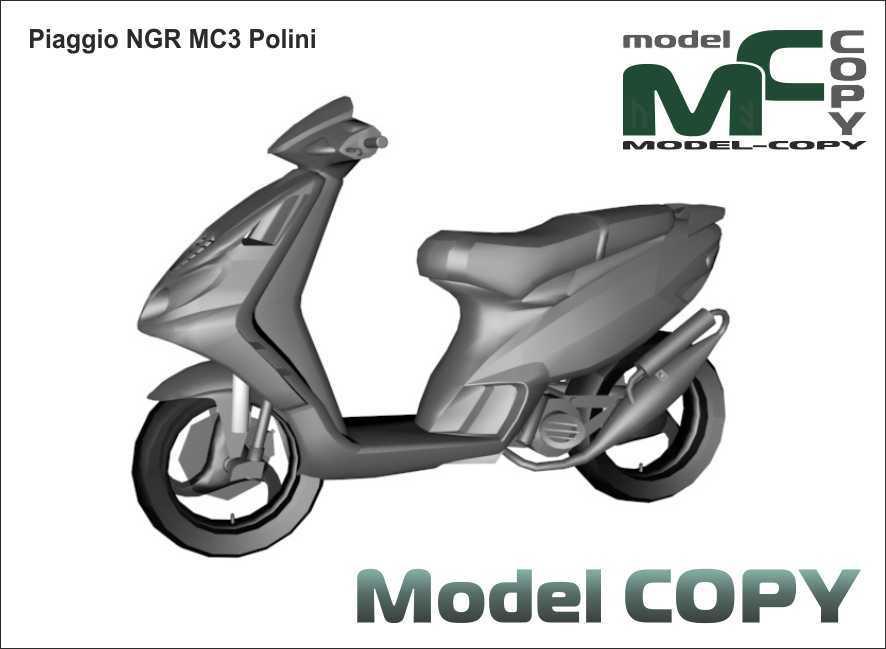 Piaggio NGR MC3 Polini - 3D Model
