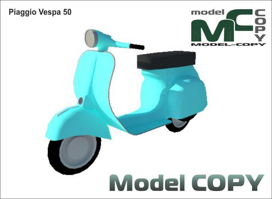 Piaggio Vespa 50 - 3D Model