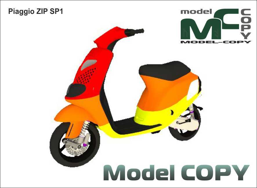 Piaggio ZIP SP1 - 3D Model