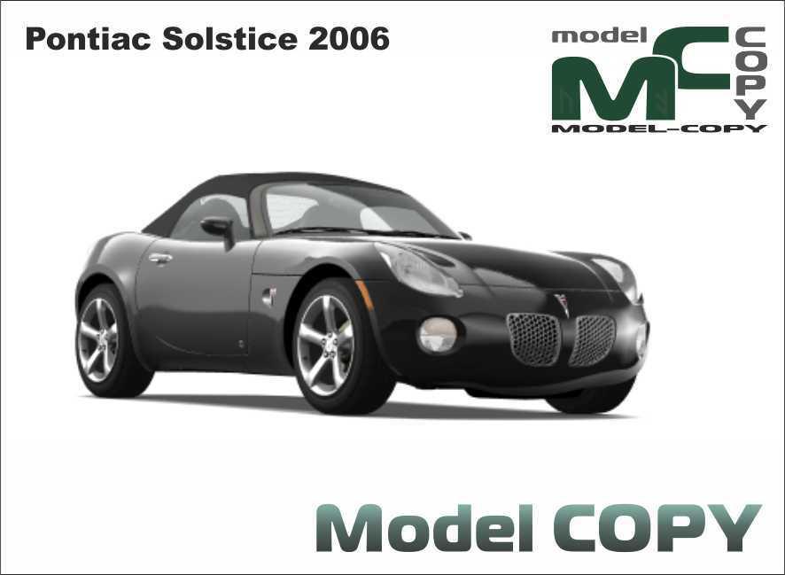 Pontiac Solstice 2006 - 3D Model
