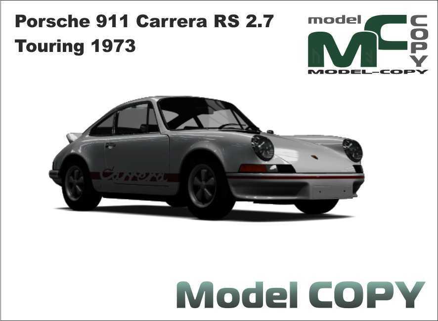 Porsche 911 Carrera RS 2.7 Touring 1973 - 3D Model