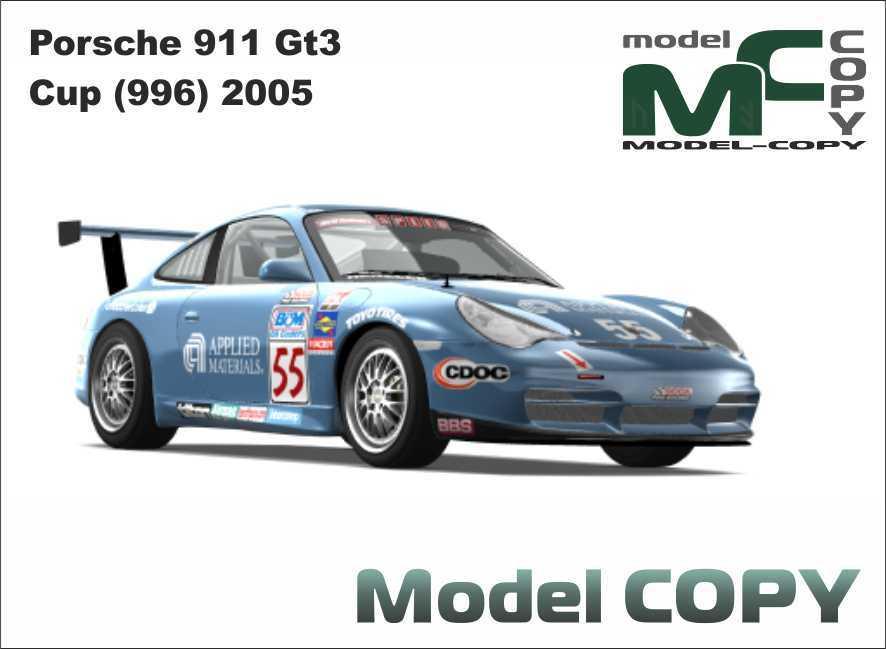 Porsche 911 GT3 Cup (996) 2005 - 3D Model