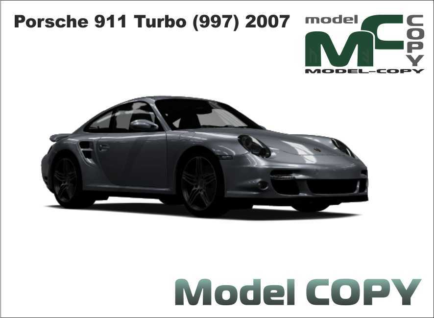 Porsche 911 Turbo (997) 2007 - 3D Model