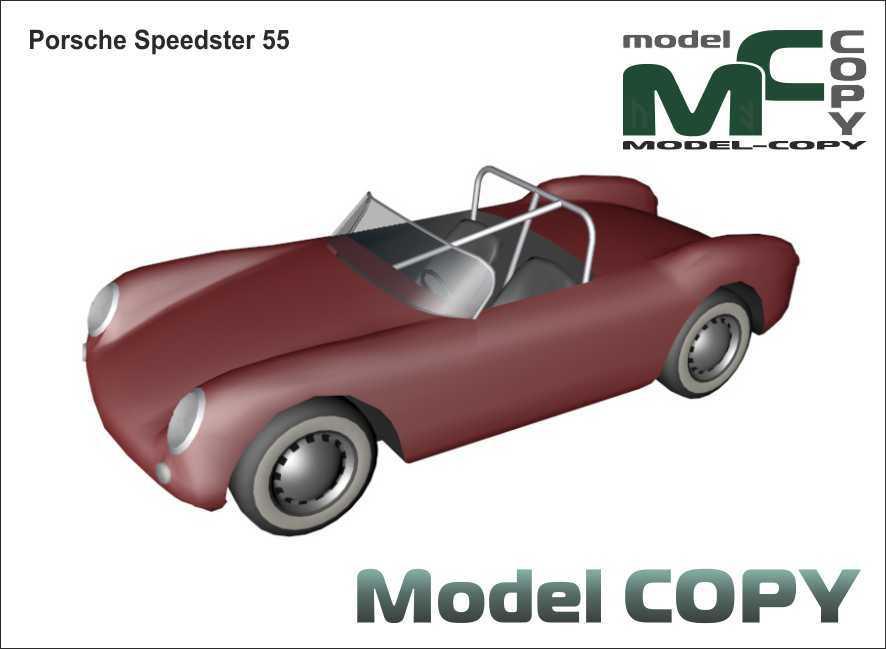 Porsche Speedster 55 - 3D Model