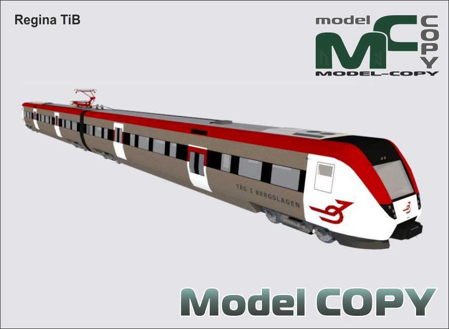 Regina TiB - 3D Model