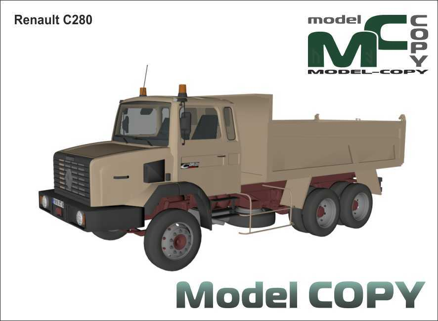 Renault C280 - 3D Model