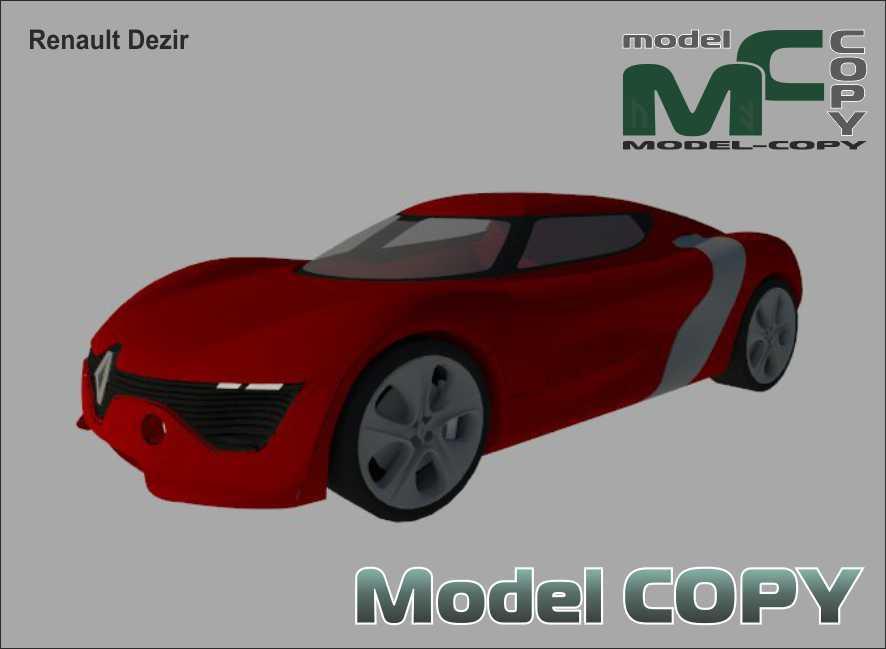 Renault Dezir - 3D Model