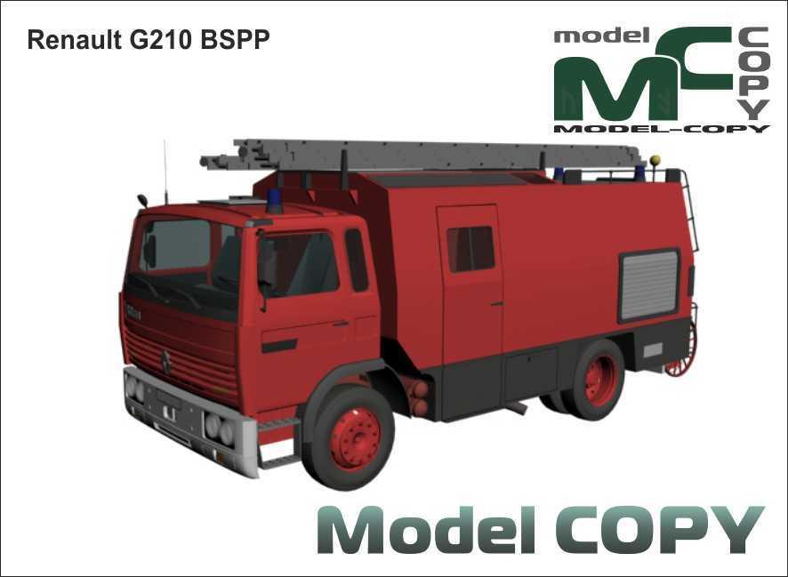 Renault G210 BSPP - 3D Model