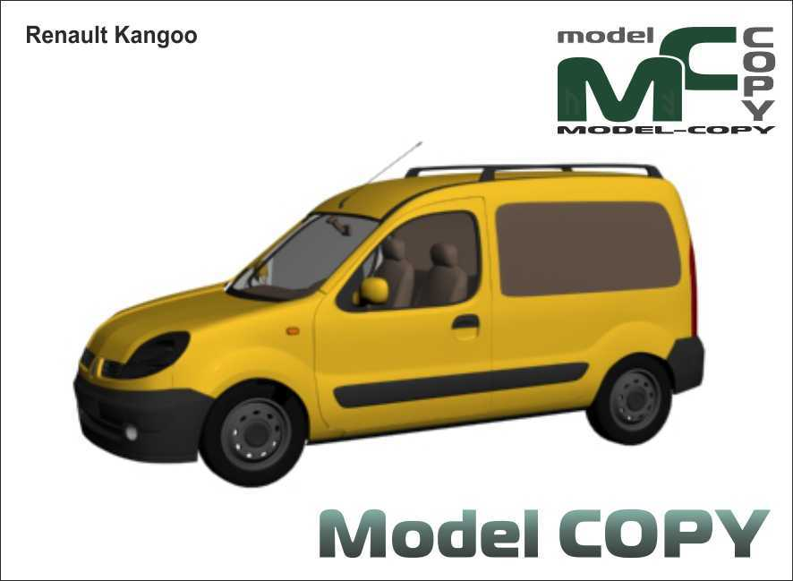 Renault Kangoo - 3D Model