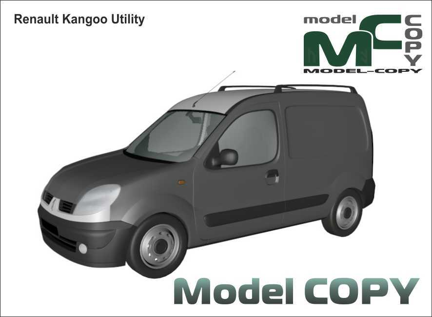 Renault Kangoo Utility - 3D Model