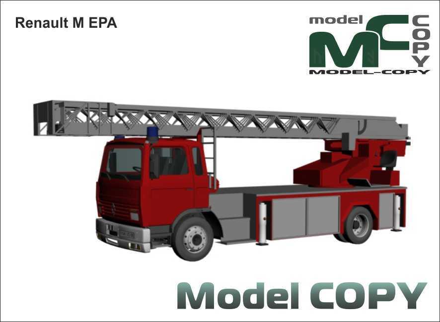 Renault M EPA - 3D Model