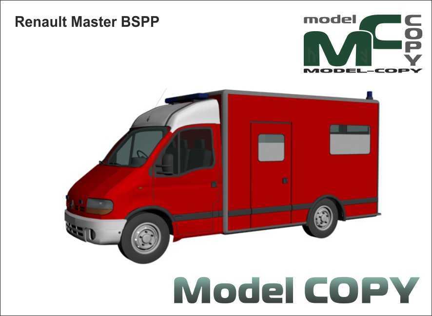 Renault Master BSPP - 3D Model