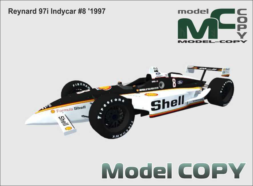 Reynard 97i Indycar #8 '1997 - 3D Model