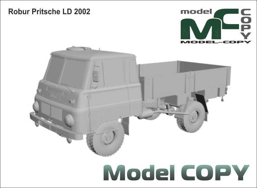 Robur Pritsche LD 2002 - 3D Model