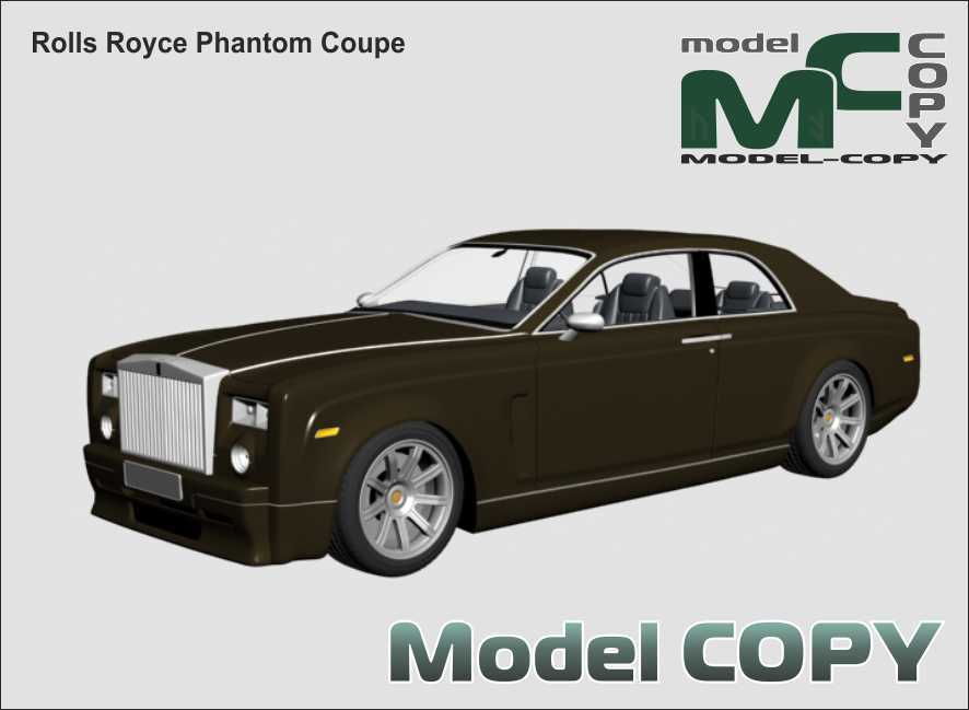 Rolls Royce Phantom Coupe - 3D Model