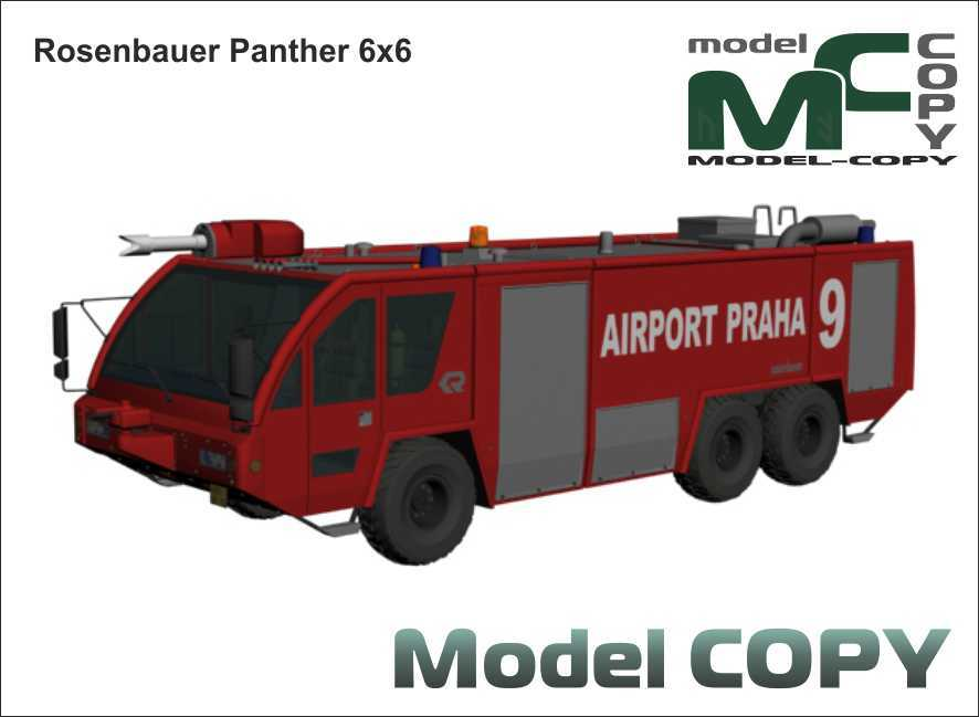 Rosenbauer Panther 6x6 - 3D Model