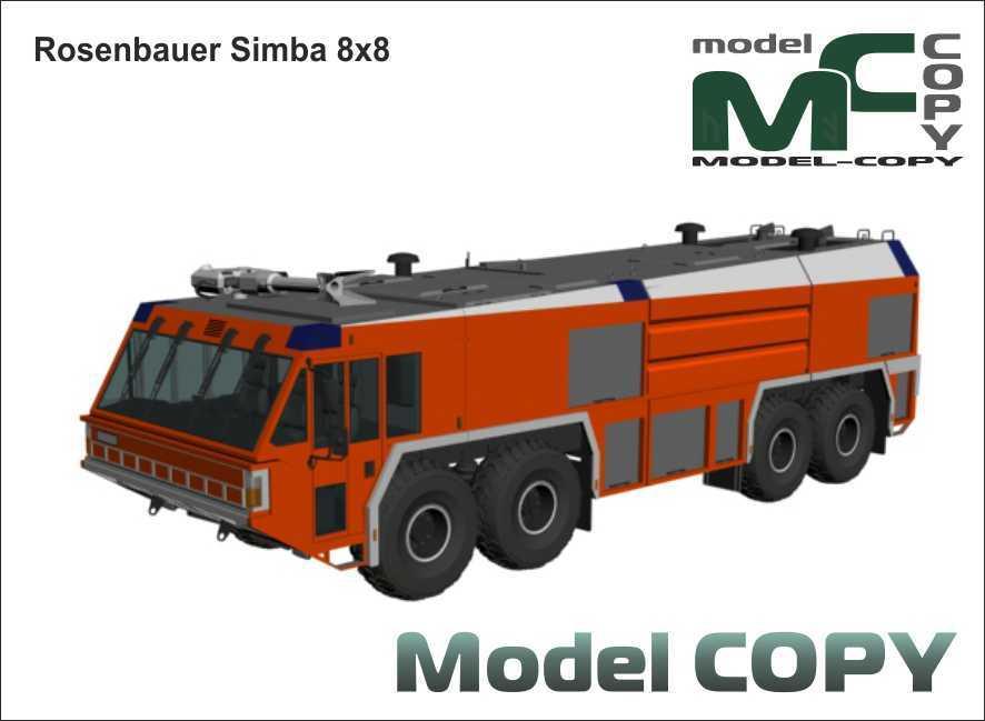 Rosenbauer Simba 8x8 - 3D Model