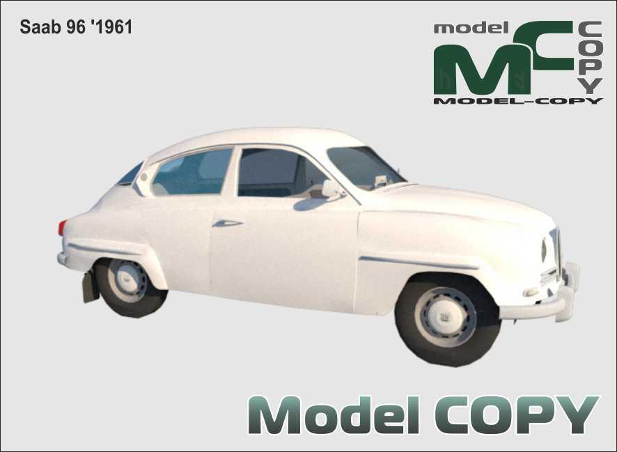Saab 96 '1961 - 3D Model