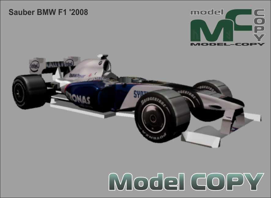 Sauber BMW F1 '2008 - 3D Model