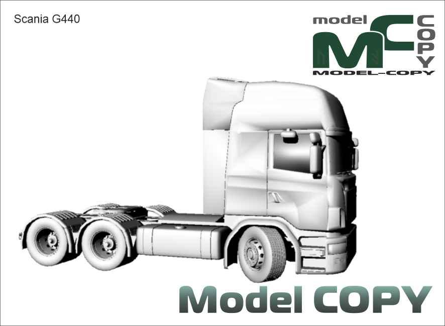 Scania G 440 - 3D Model