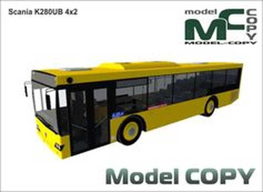 Scania K280UB 4x2 - 3D Model