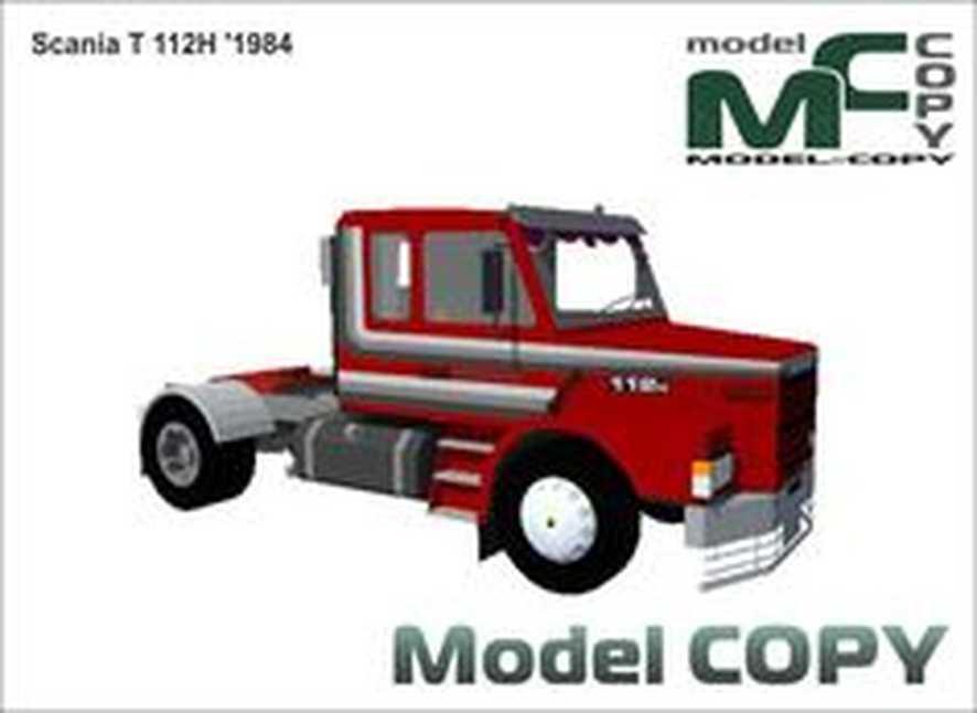 Scania T 112H '1984 - 3D Model