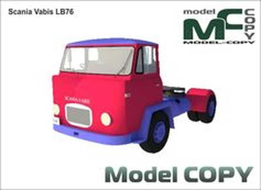 Scania Vabis LB76 - 3D Model