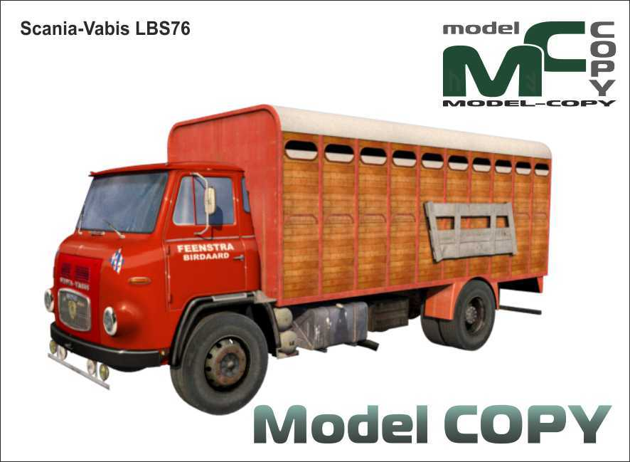 Scania-Vabis LBS76 - 3D Model