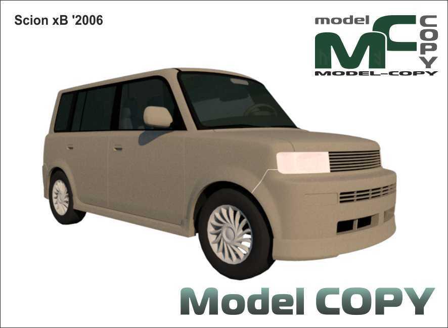 Scion xB '2006 - 3D Model