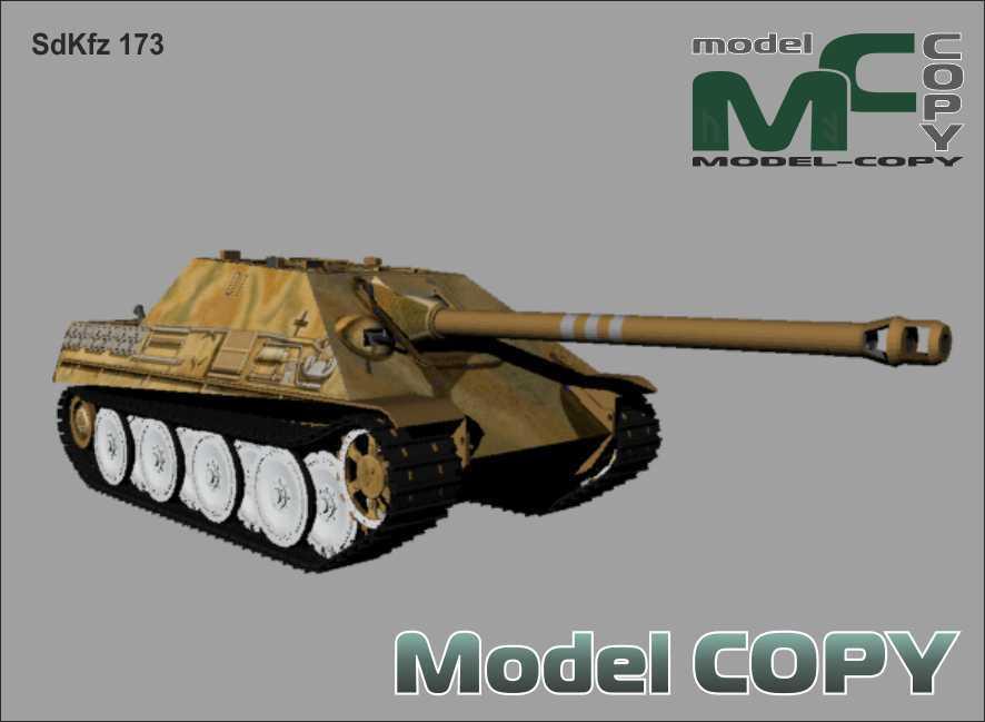 SdKfz 173 - 3Dモデル