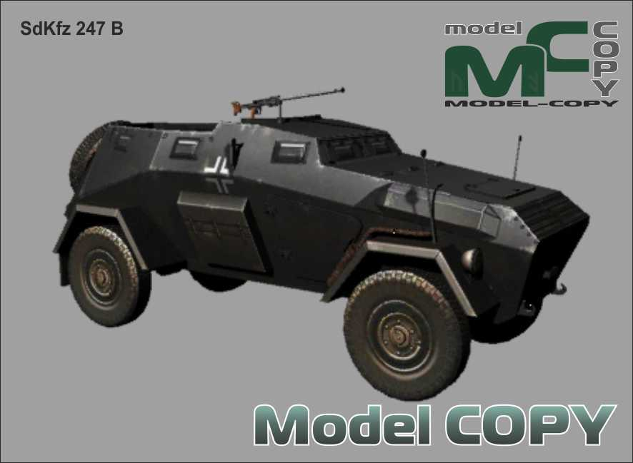 SdKfz 247 B - 3D Model
