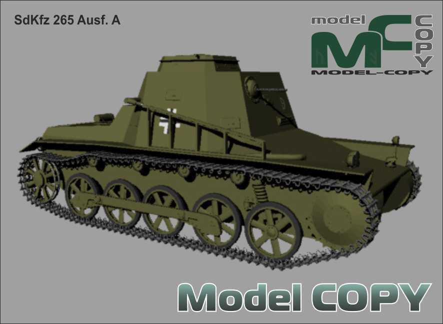 SdKfz 265 Ausf. A - 3D Model